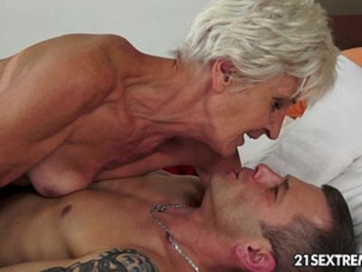 GILF sex scenes in which horny grannies get their wrinkly cunts destroyed on camera